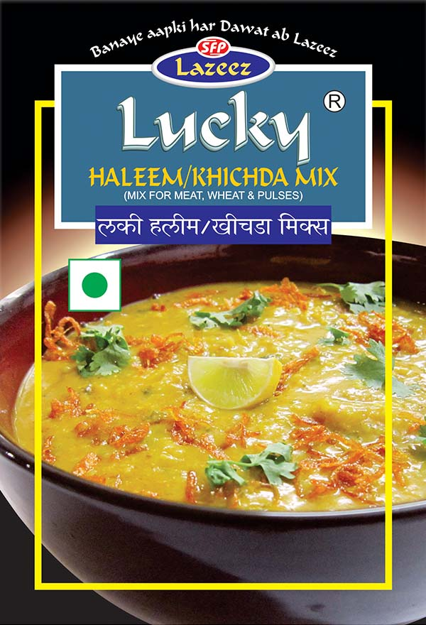 Haleem Khichada includes cereals and pulses